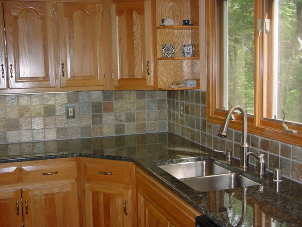 Backsplash Ideas For Tile Counter Top Kitchen