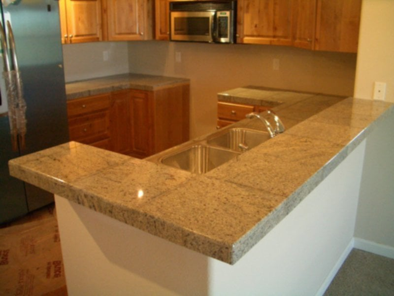 Cool Ideas For Tile Counter Top Kitchen