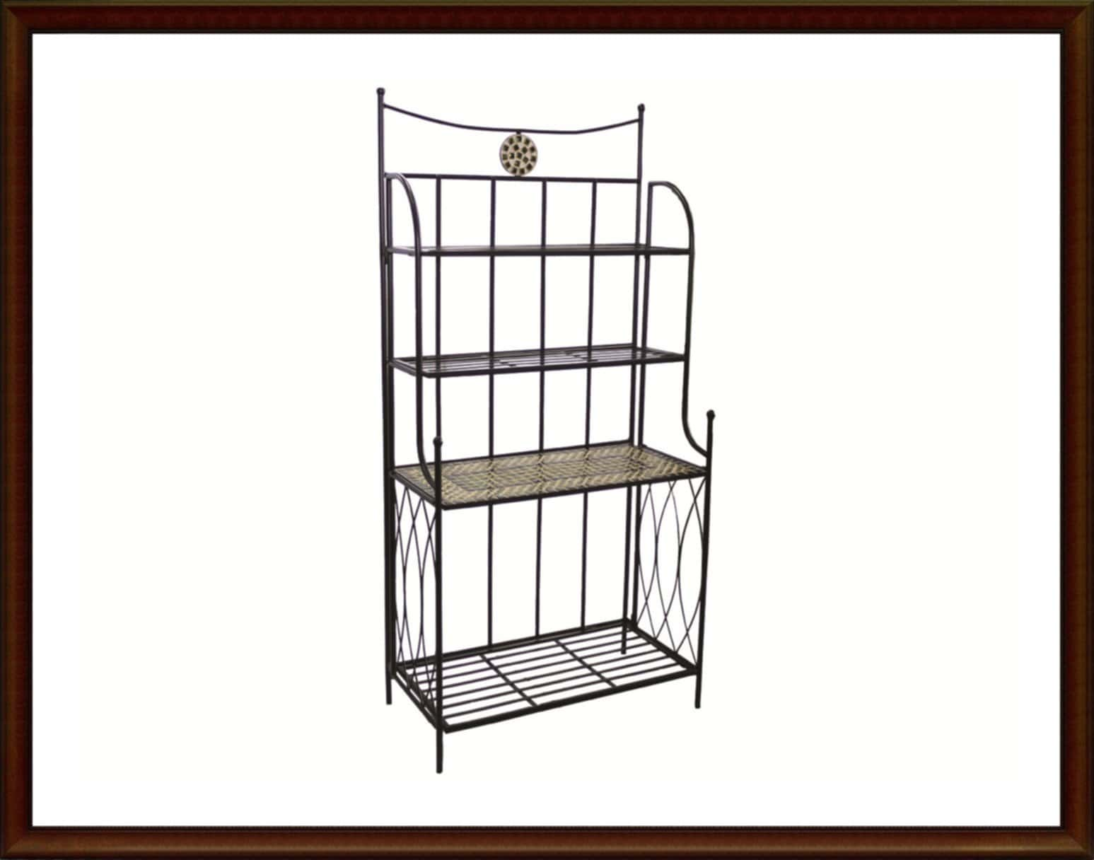 Outdoor Bakers Rack Wrought Iron