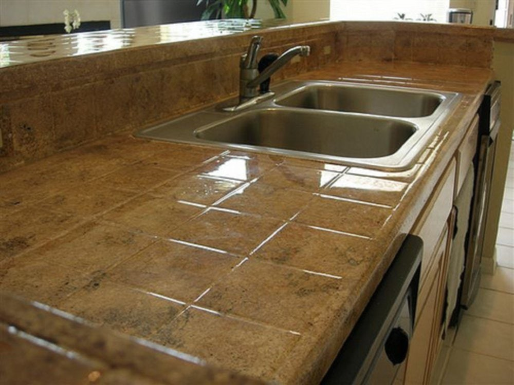 Simple Cool Ideas For Tile Counter Top Kitchen
