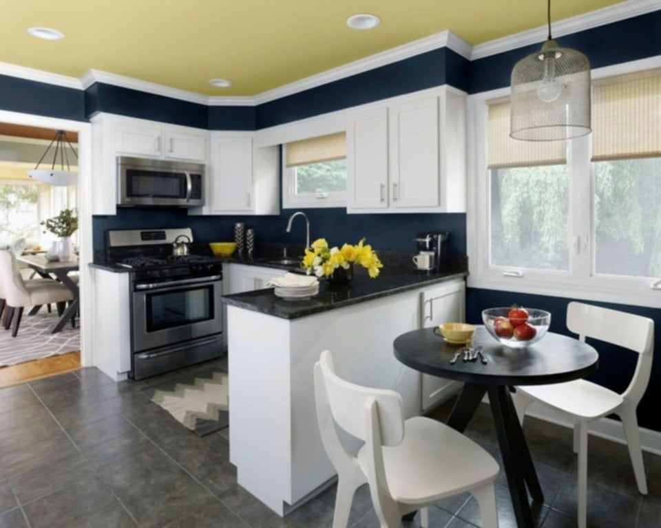 Small Kitchen Color Trends