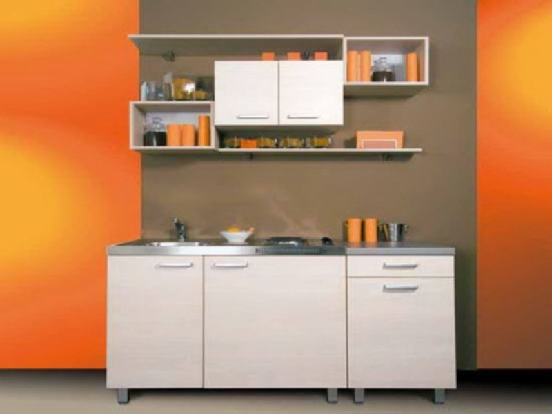 Small Kitchen Design Idea Space Saving 4 15 Modern Tips To Choose The Good Small Kitchen Colors