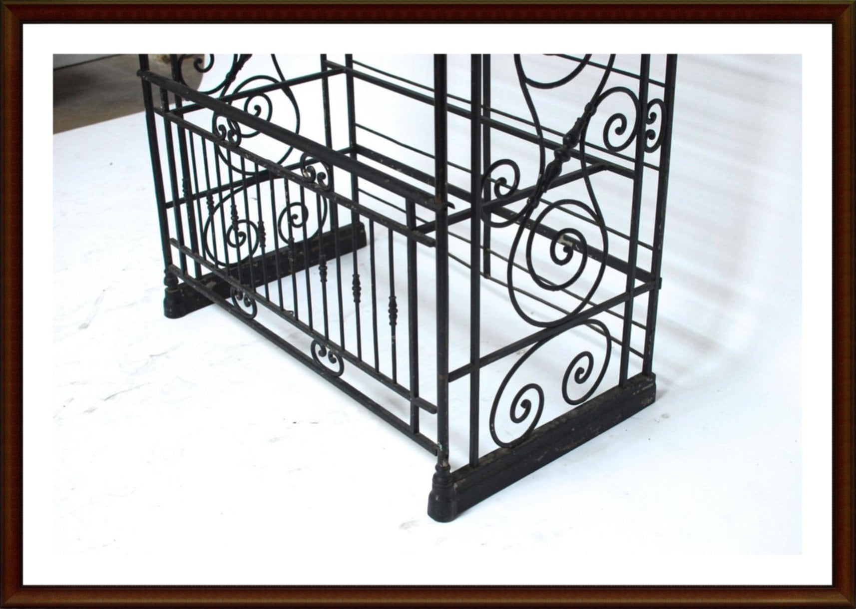 Wrought Iron Bakers Rack Furniture