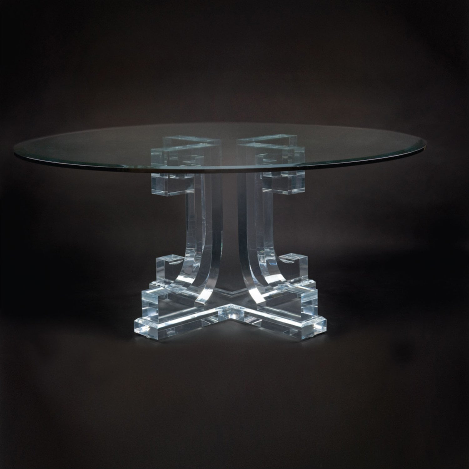 Acrylic Dining Table Round