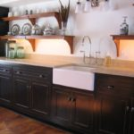 Distressed Kitchen Cabinet Casual Cottage Kitchen Trend How To Distressed Kitchen Cabinets