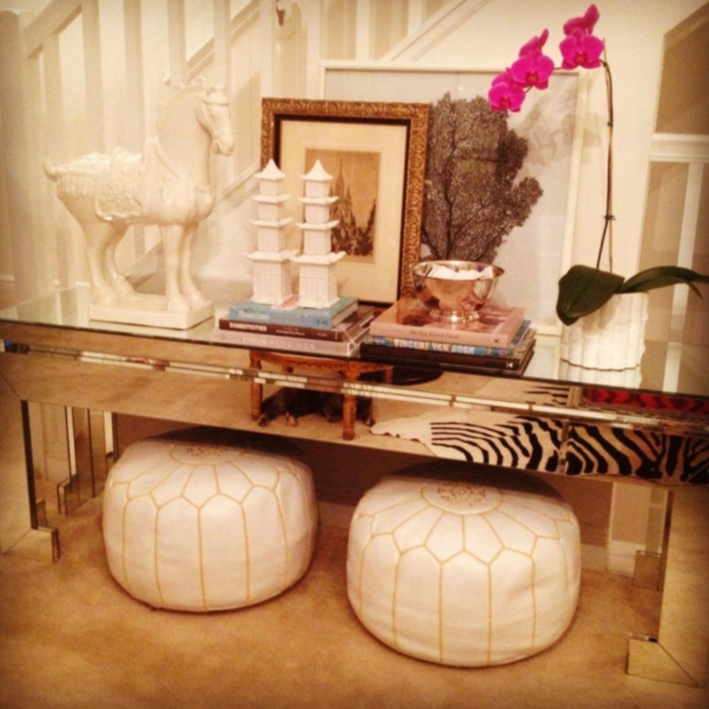 Luxe Report Nursery Diary Part Moroccan Pouf Ideas