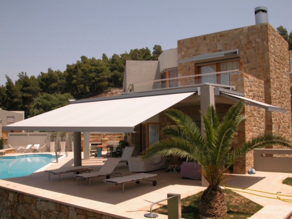 Modern Retractable Awnings