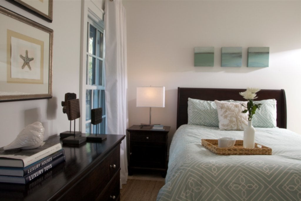 Rosemary Beach Guest Bedroom Blog Special Wood Paneling For Walls