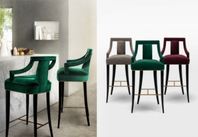 Slim Bar Stools With Arms