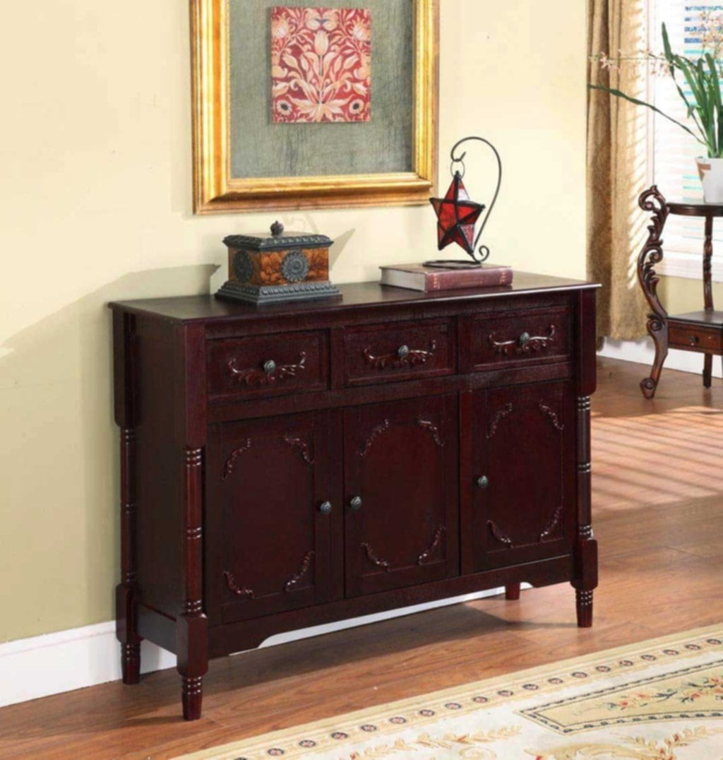 Solid Wood Console Table Drawer Storage Consumer How To Decorate Entryway Furniture