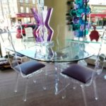 Wonderful Acrylic Dining Table