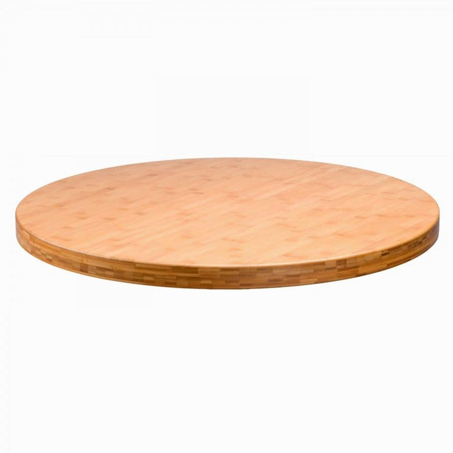 24 Round Wood Table Tops
