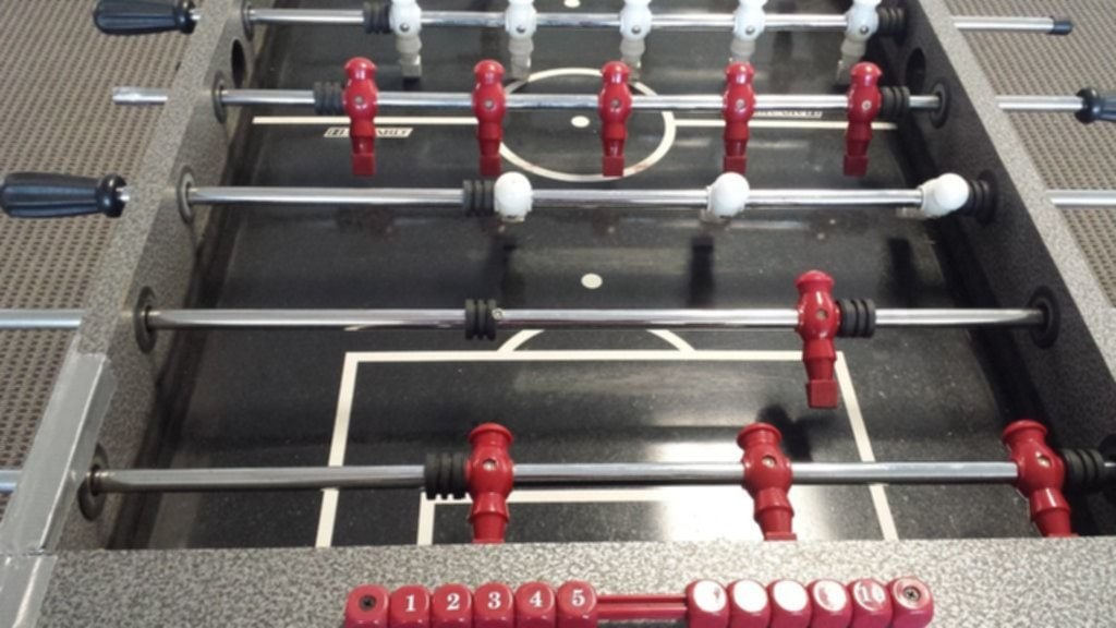 Harvard Foosball Table View