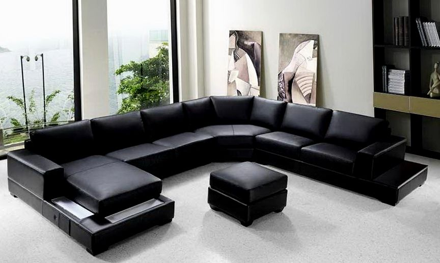 Large U Shaped Sectional Sofa Loccie Better Homes