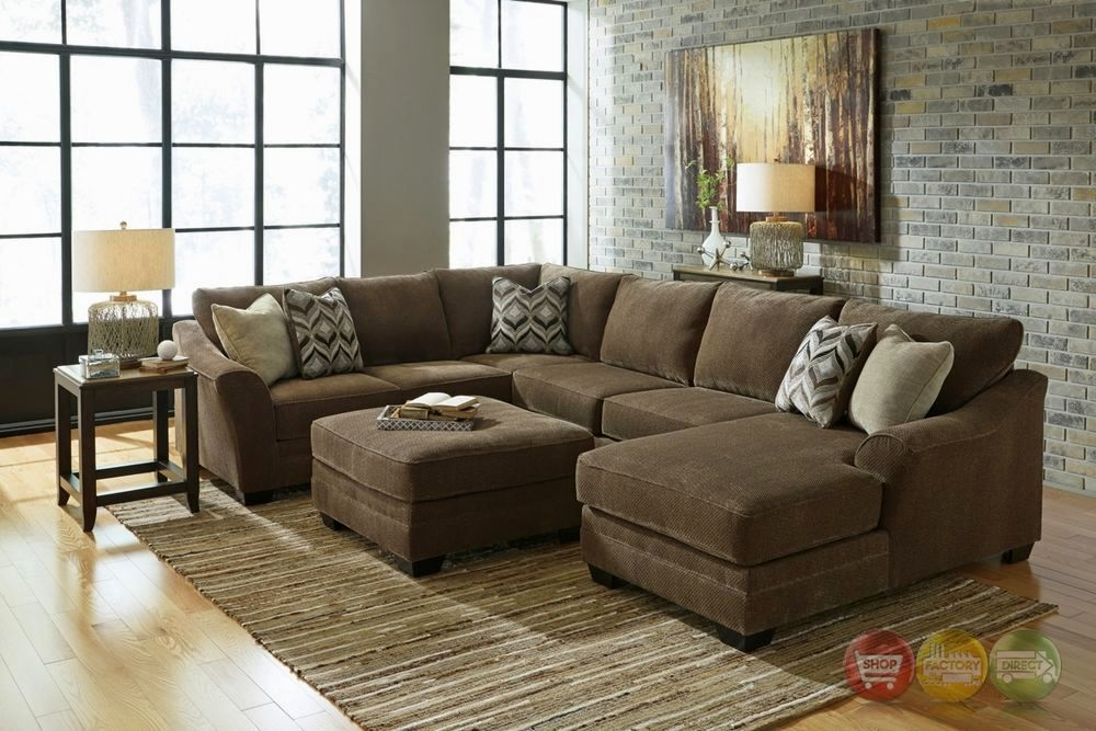 Large U-Shaped Sectional Sofa
