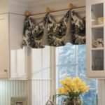 Modern Kitchen Door Curtains