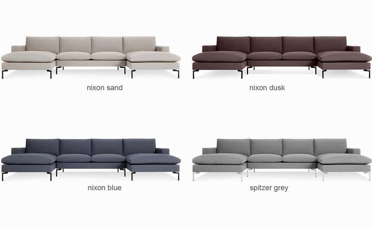 Modern U Shaped Sectional Sofa