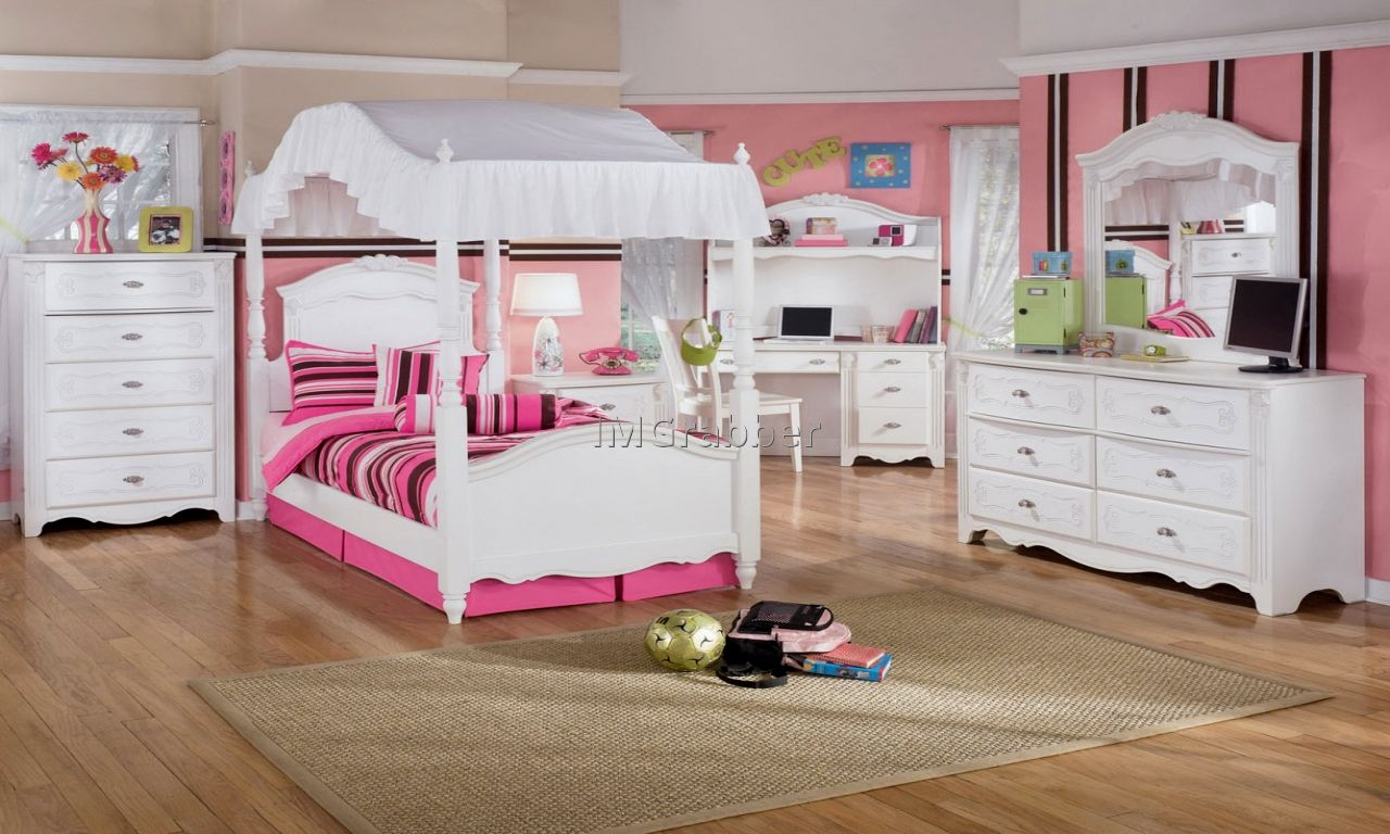 Pink Kids Modern Bedroom Furniture