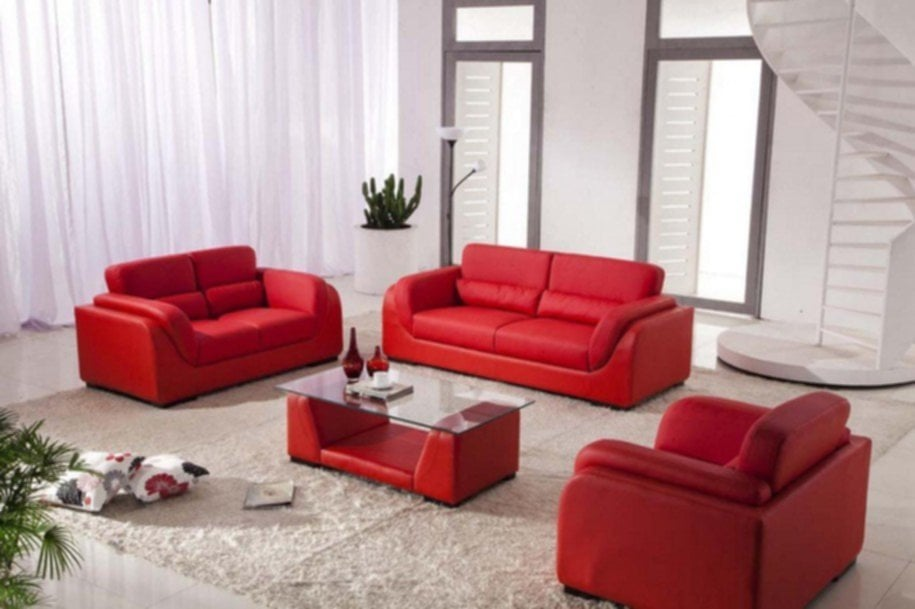Red Living Room Ideas Sofa