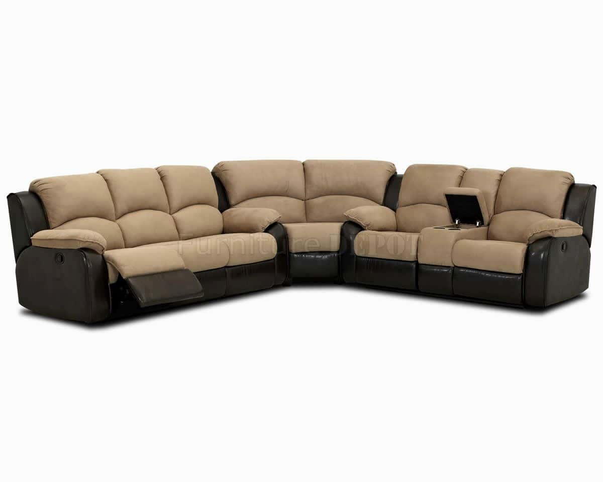 Sectional Couch With Recliner