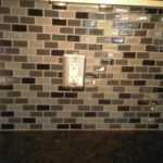 Splash Tile Casual Cottage Glass Kitchen Backsplash Tiles