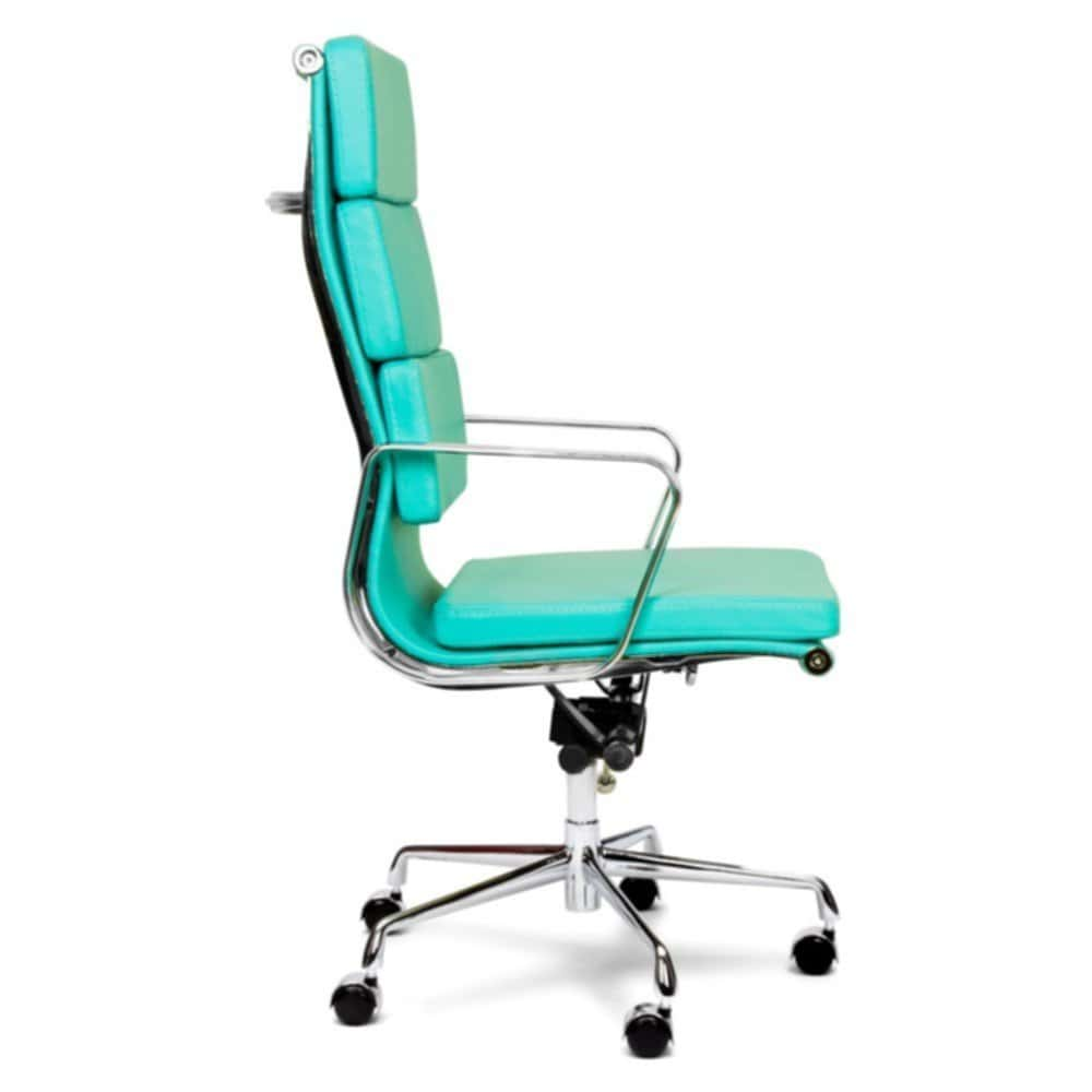 Turquoise Office Chair Soft Pad