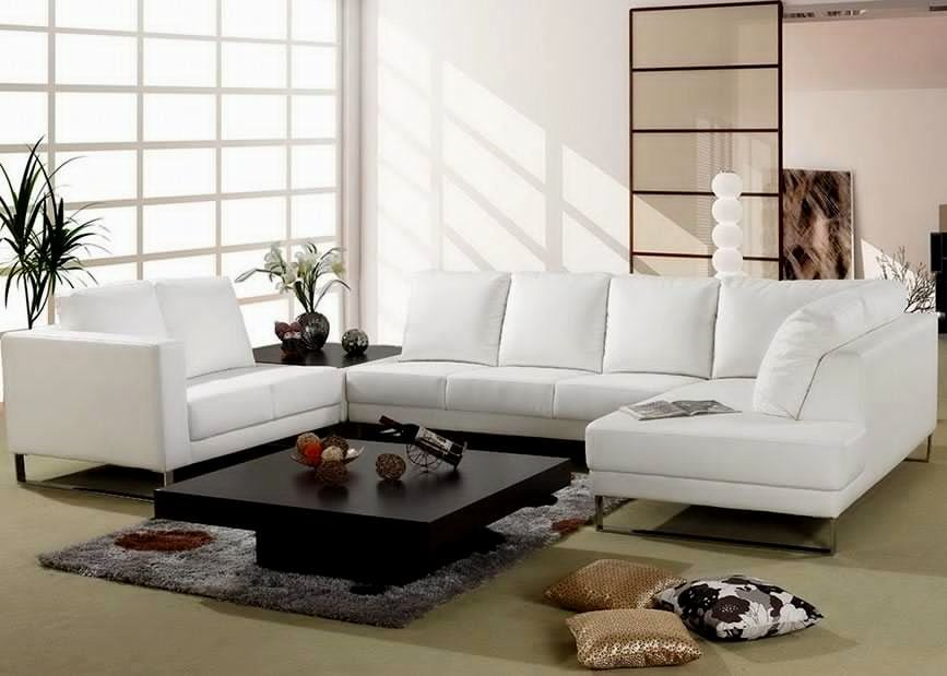 U-Shaped Sectional Sofa Grouping