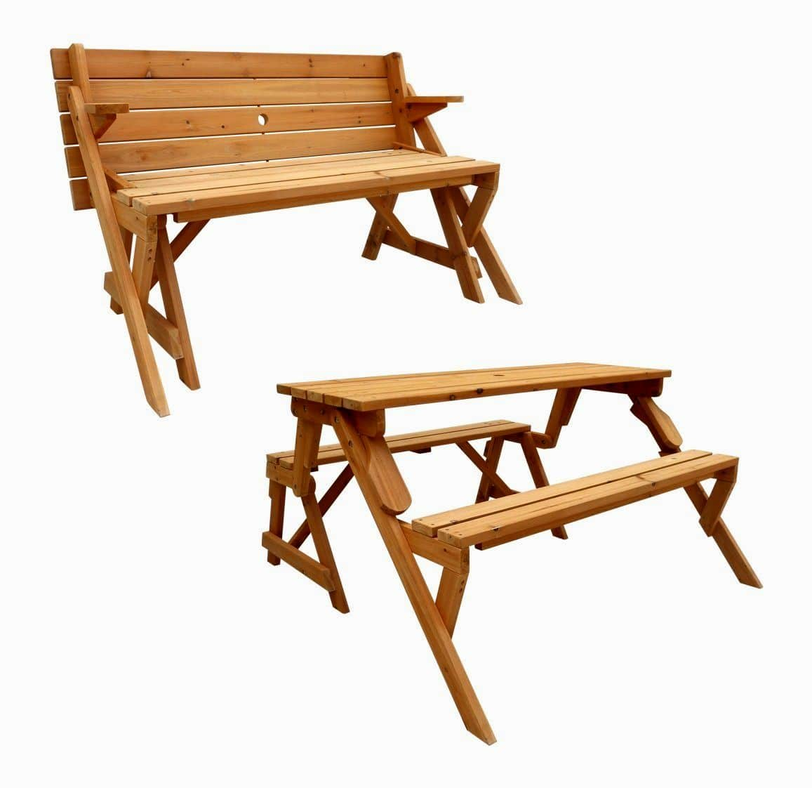 Wooden Picnic Tables And Benches