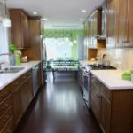 Galley Style Kitchen Remodel Idea 28 Image 12 Efficient Galley Kitchen Ideas