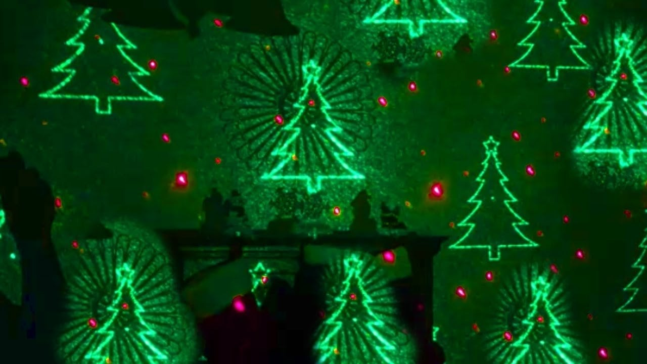 Laser Christmas Lights Outdoor Holiday Projectors