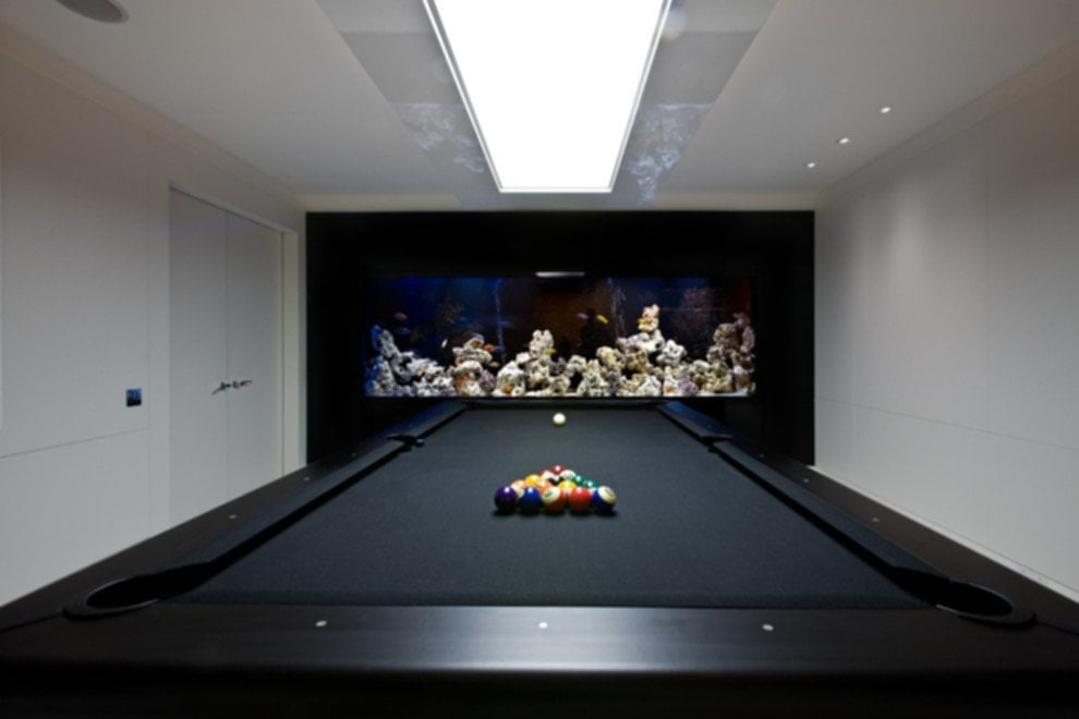 Modern Pool Tables Light Fixtures