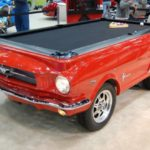 Red Mustang Pool Table