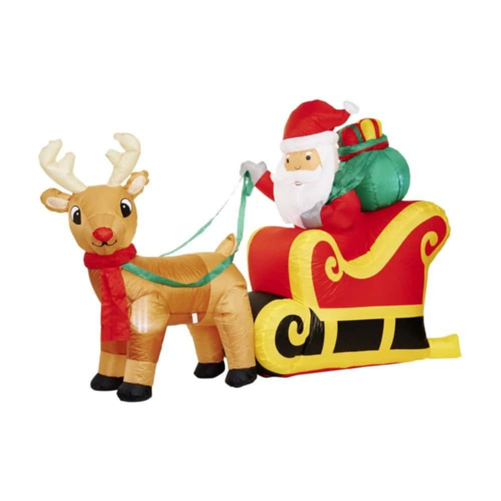 Wilko Light Inflatable Santum Sleigh Wilko Christma Battery Operated Christmas Lights Brown Wire