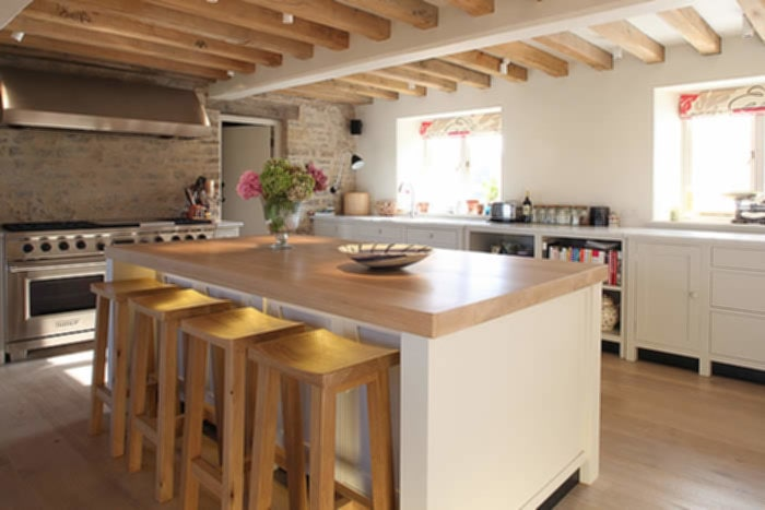 Awesome Country Kitchens With Islands