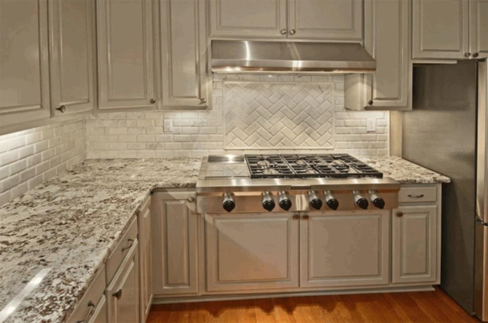 Black And White Design Kitchen Backsplash Tile – Loccie ...