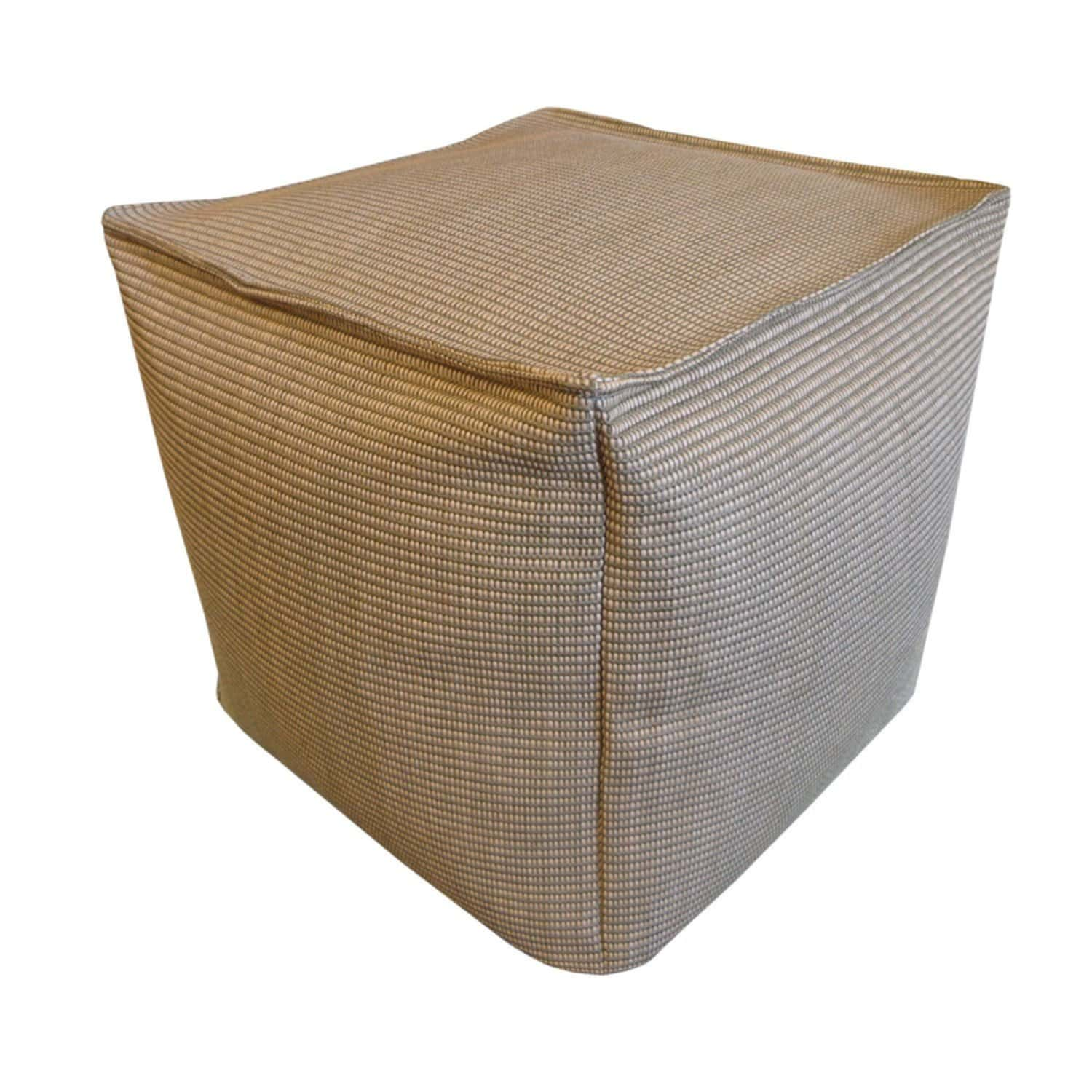 Elegant Design Outdoor Pouf Ottoman