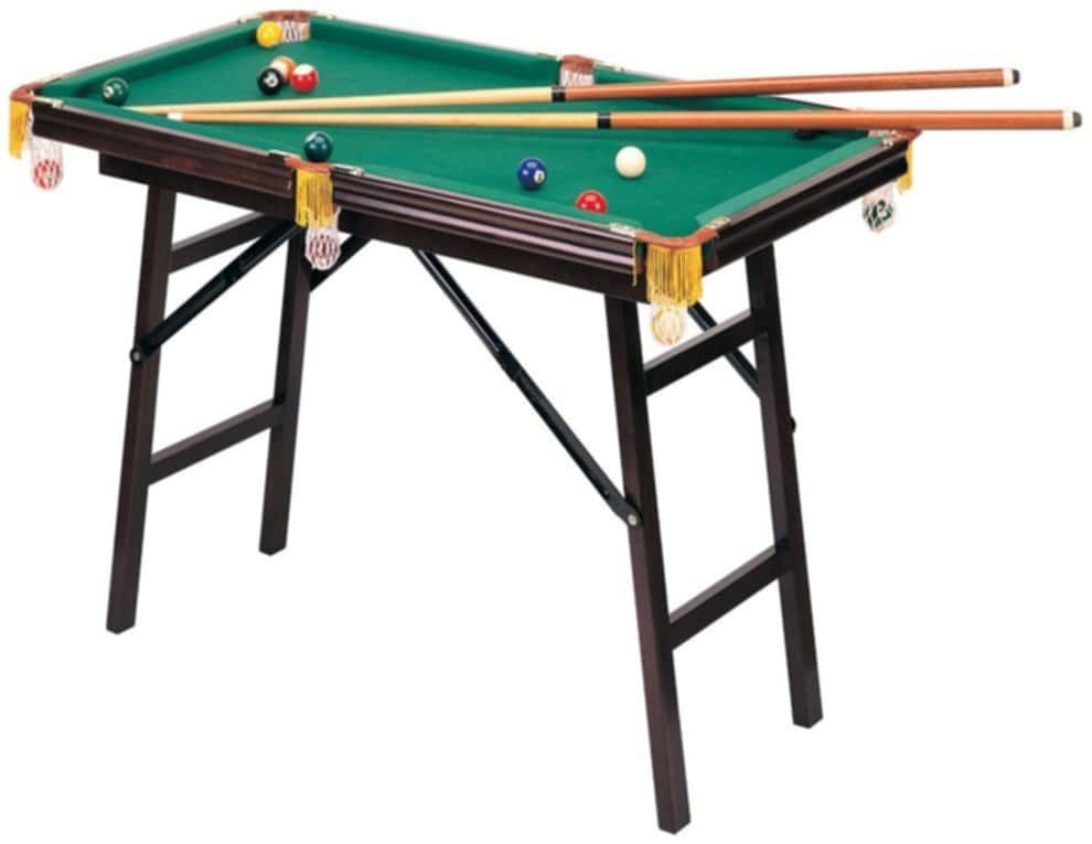 Folding Pool Table At Home