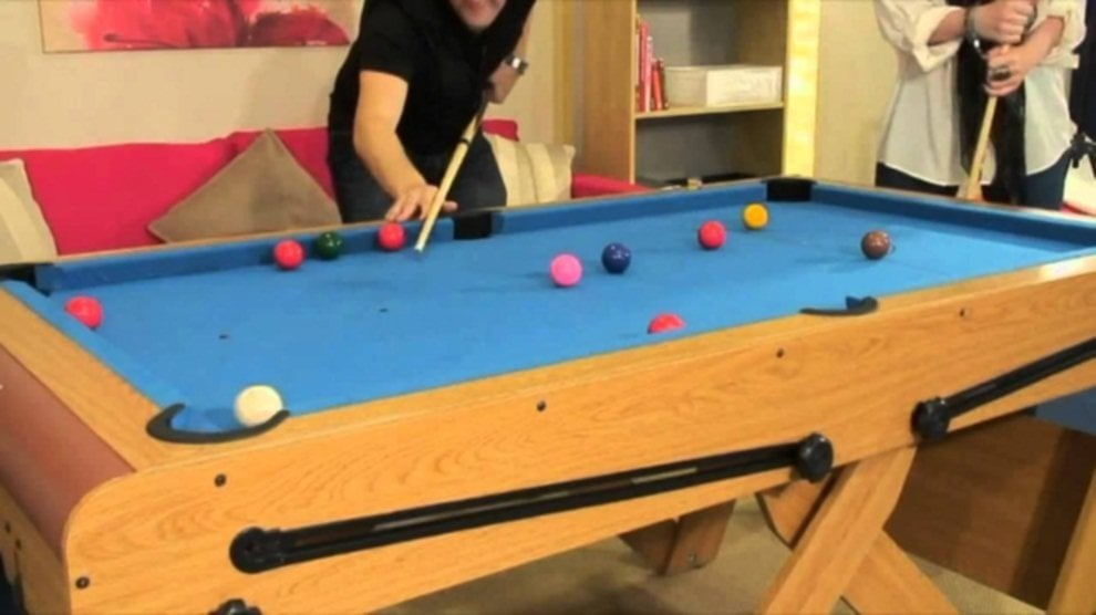 Folding Pool Table Details
