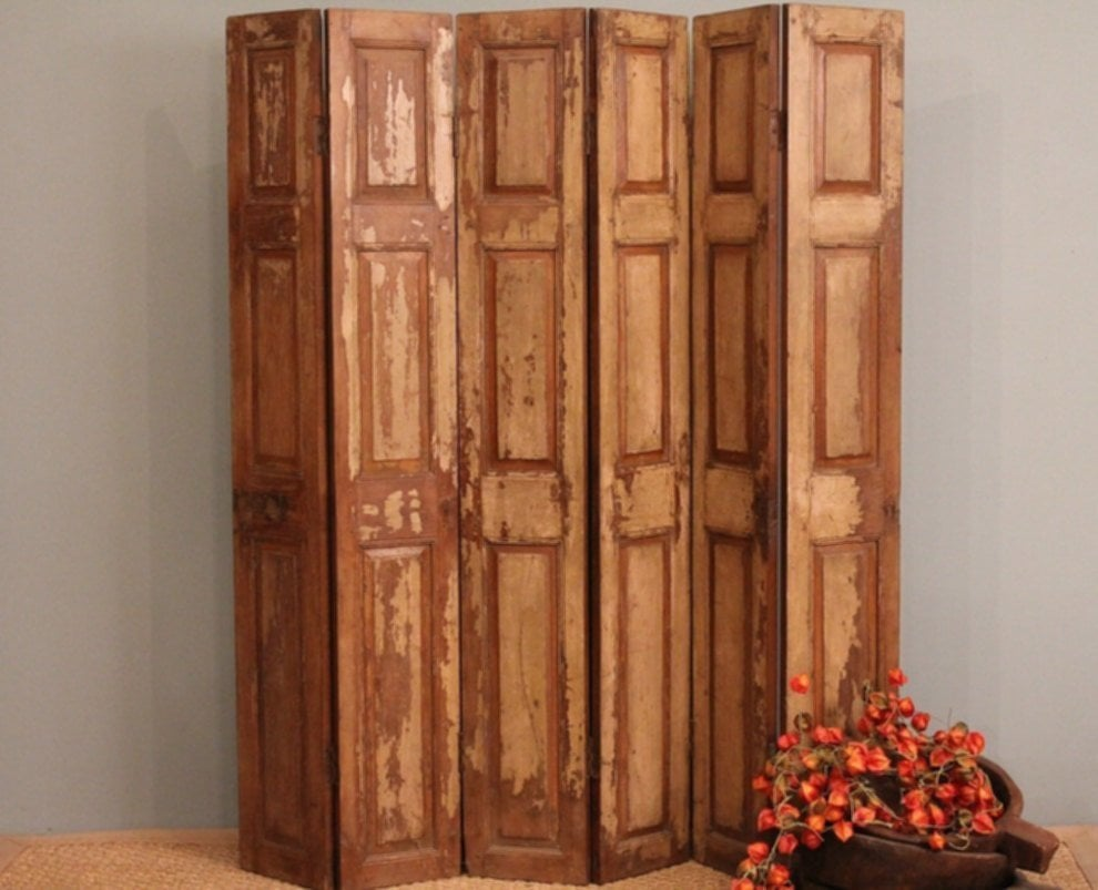Folding Room Dividers Old