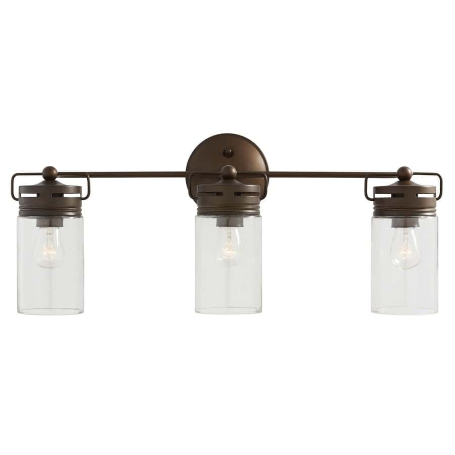Lowes Allen Roth Vallymede Vanity Lights Increase Warmness