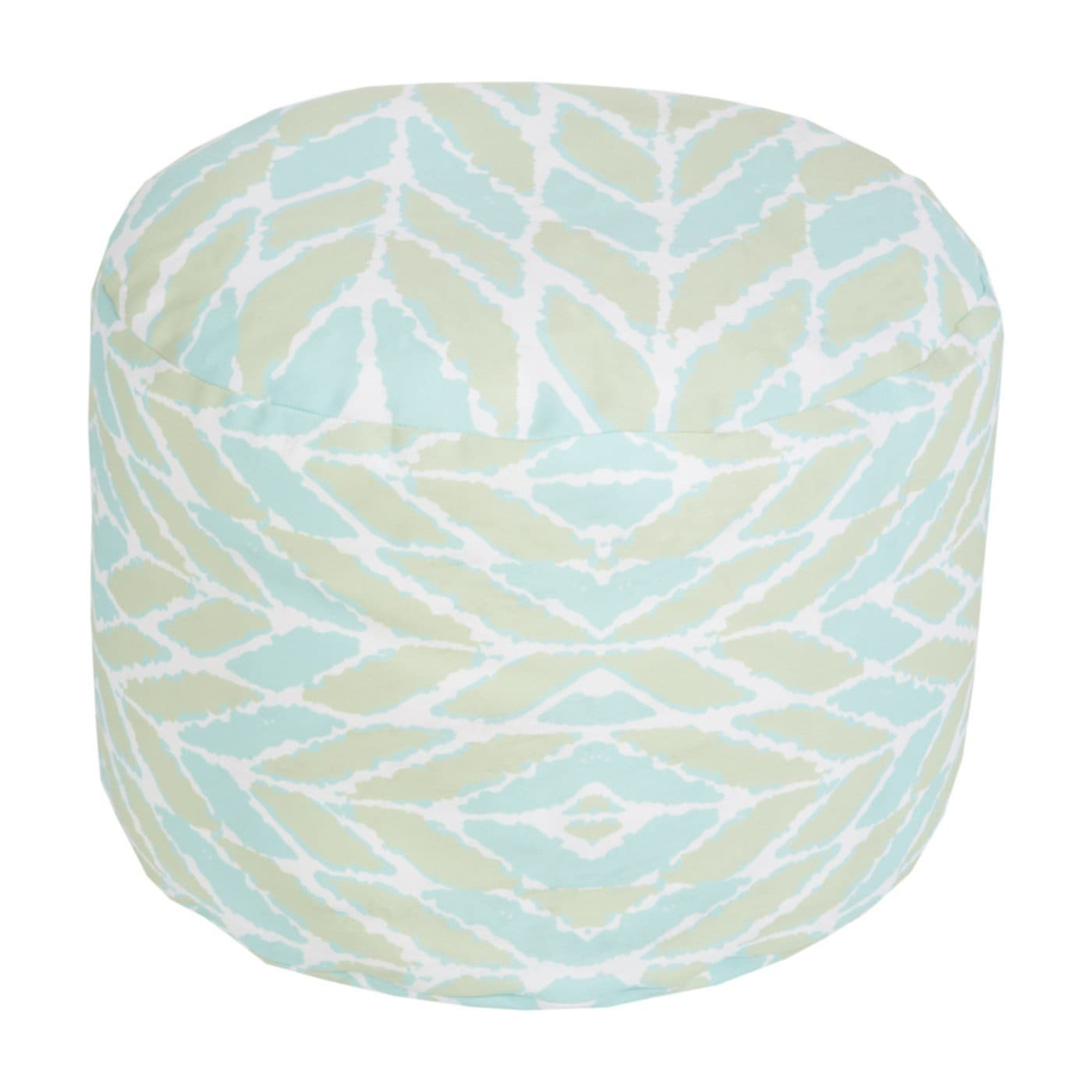Oval Design Outdoor Pouf Ottoman