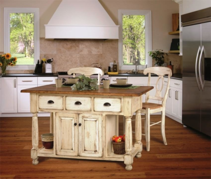Vintage Country Kitchens With Islands