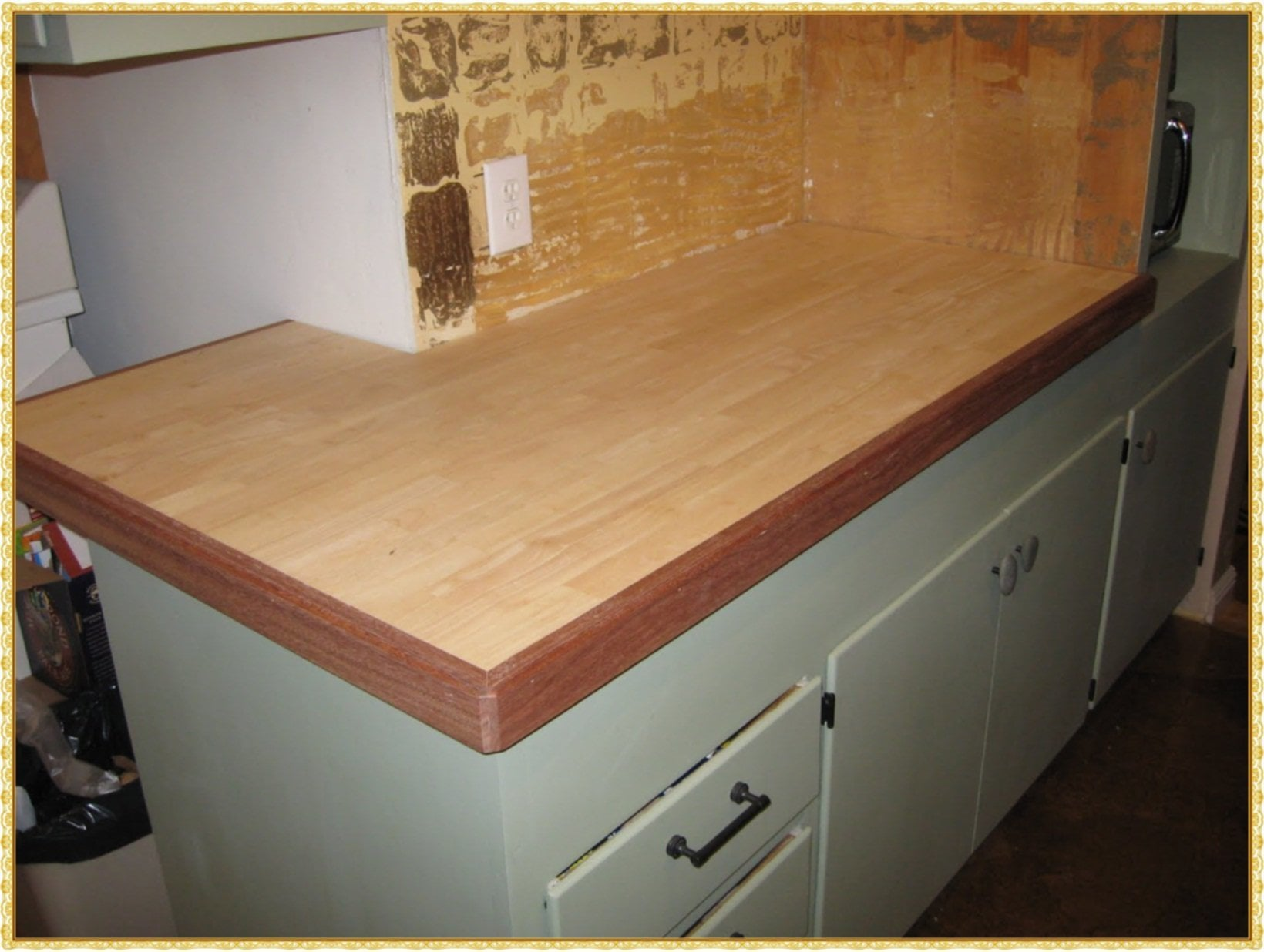 How To Make A Butcher Block Counter Top