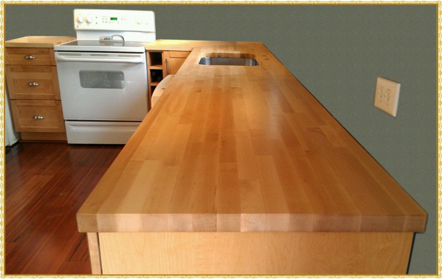Maple Butcher Block Counter Top