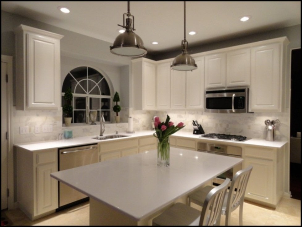 White Quartz Countertops Stain
