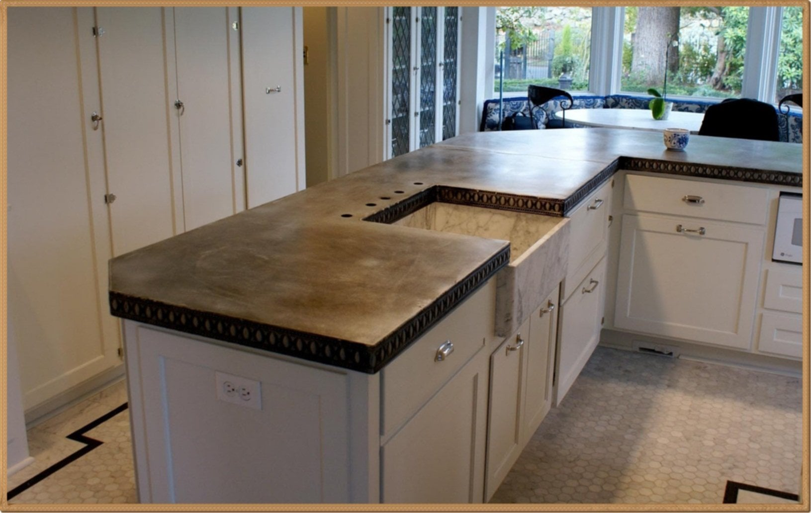 Merveilleux Zinc Kitchen Countertops