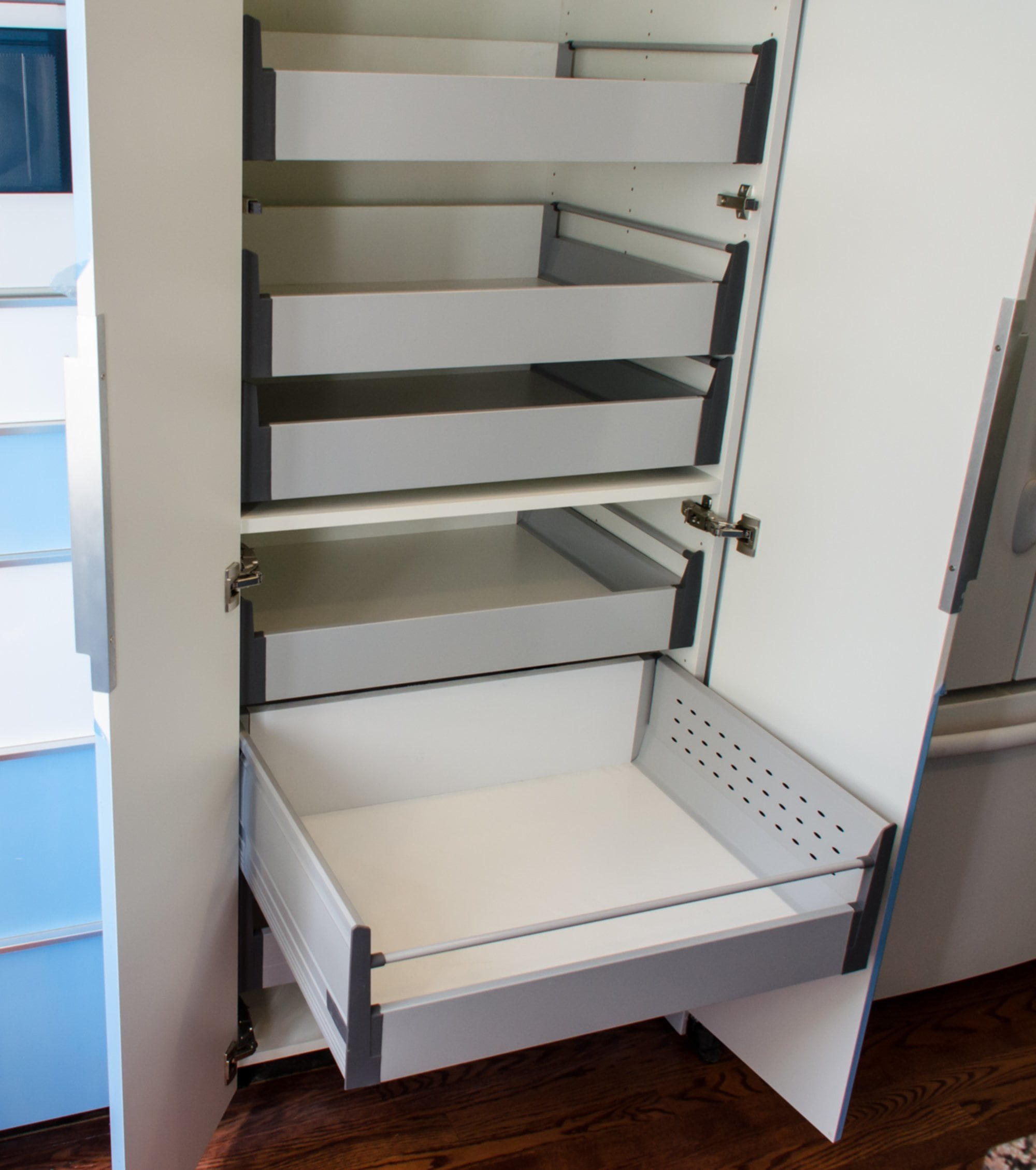 Pull Out Pantry Shelves Photo