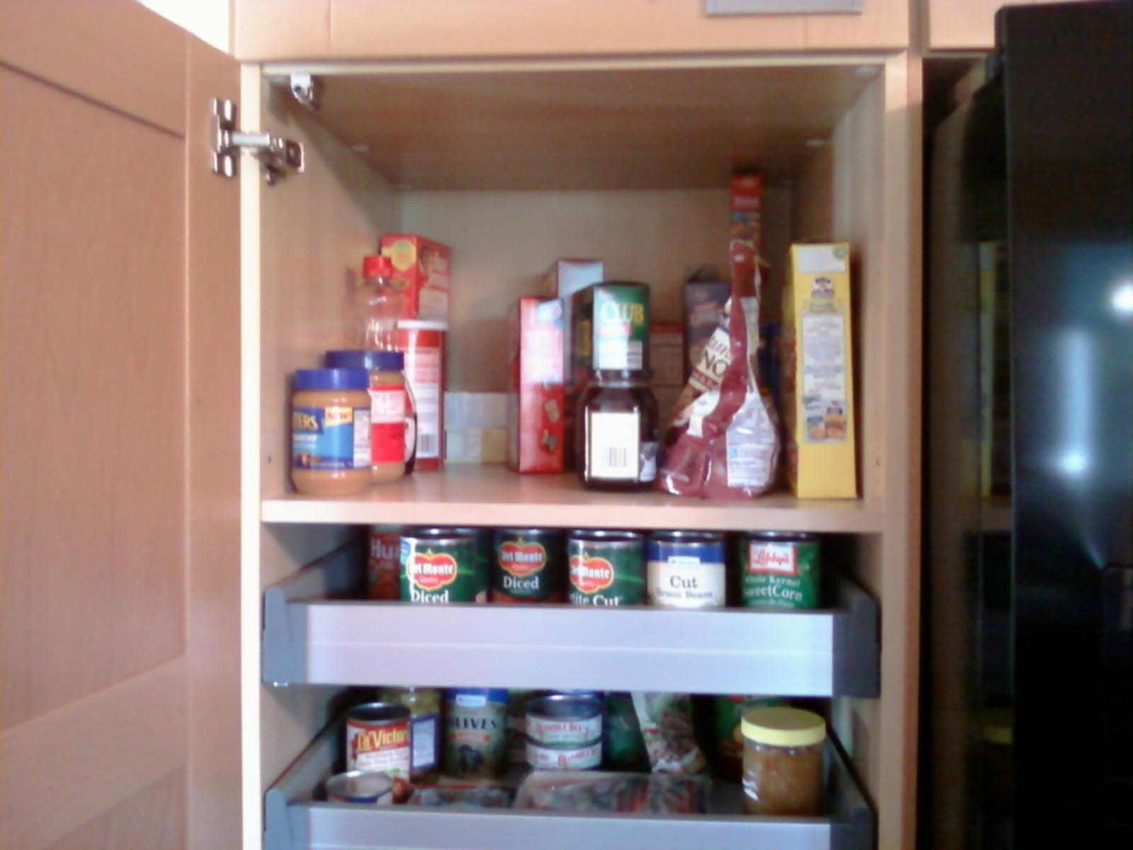 Pull Out Pantry Shelves Rack