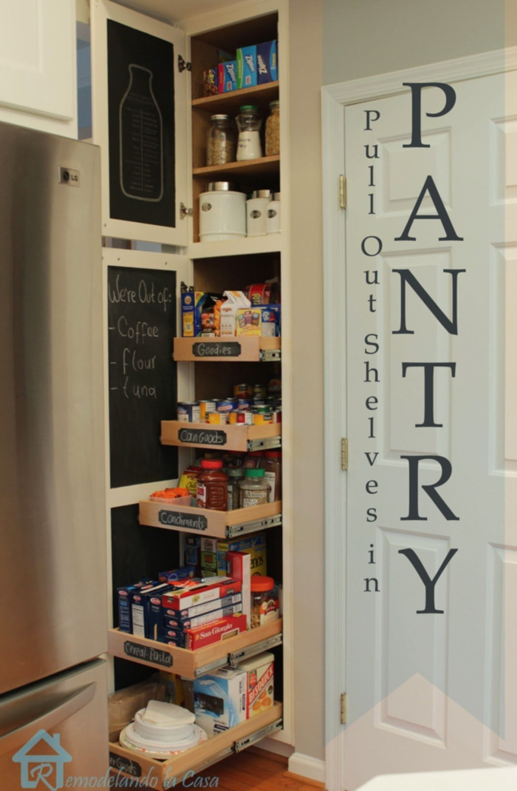 Pull Out Pantry Shelves Tips