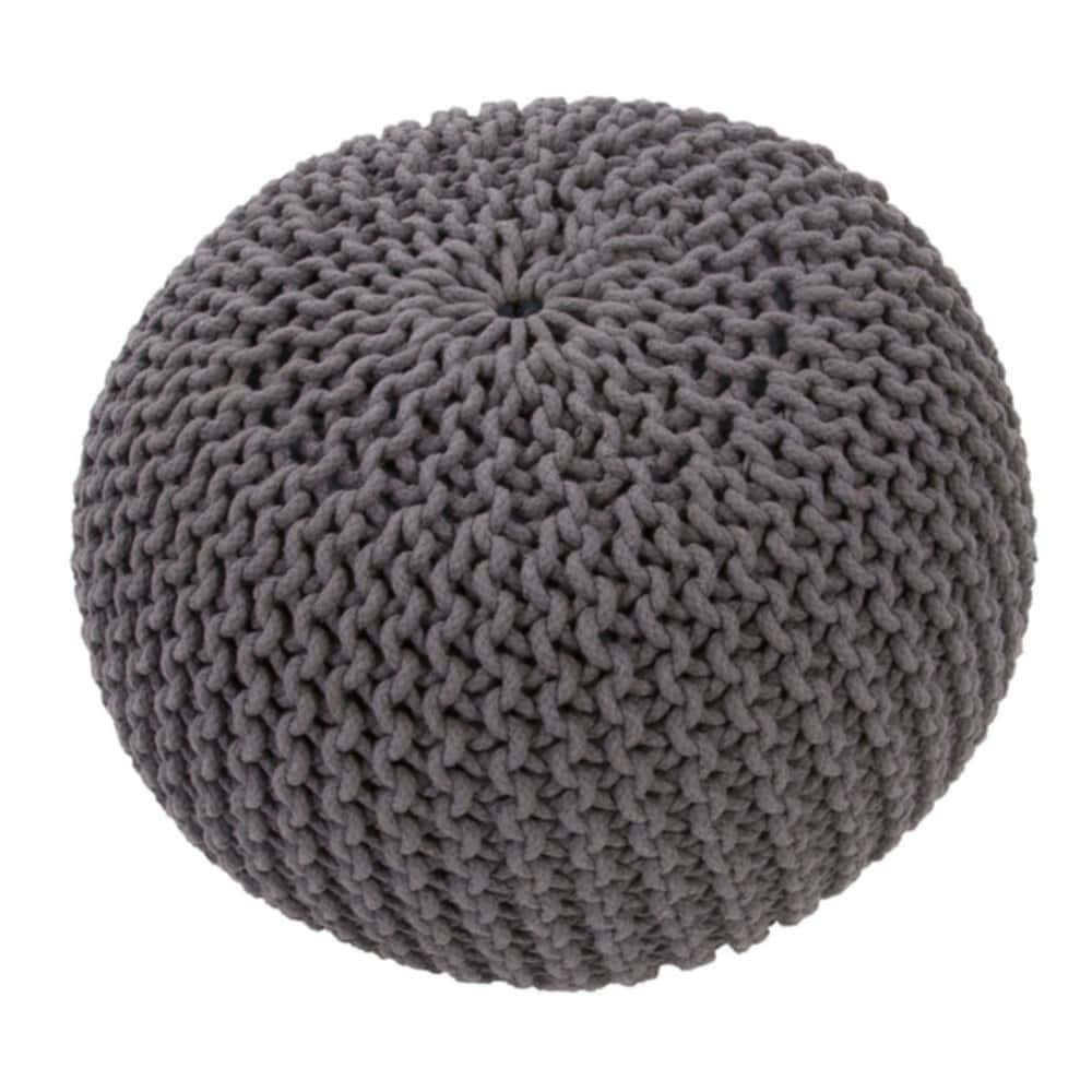 Seagrass Pouf Roost Malu Seagrass Baskets Natural Rope Knitted Pouf Ottoman